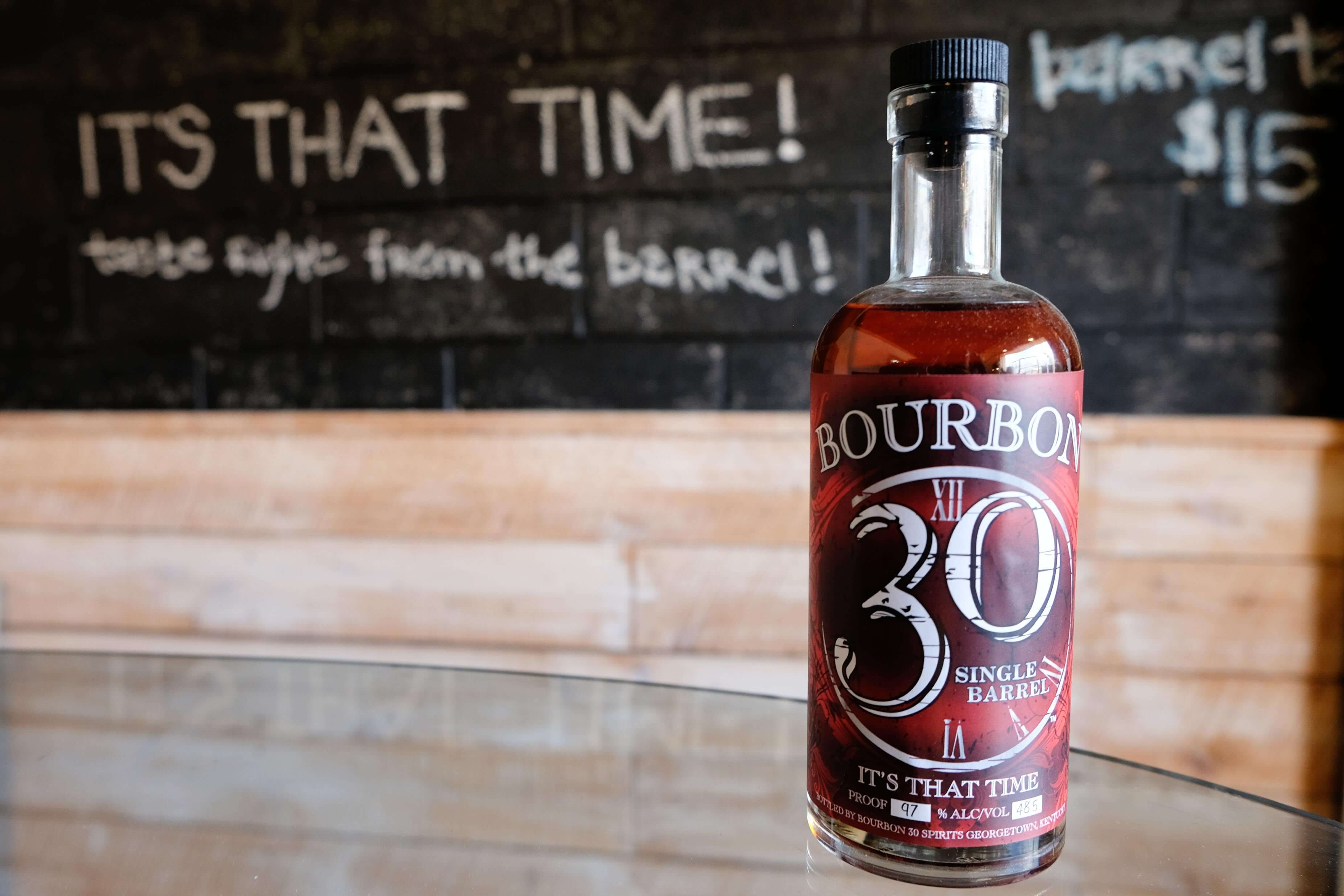 bourbon 30 its that time